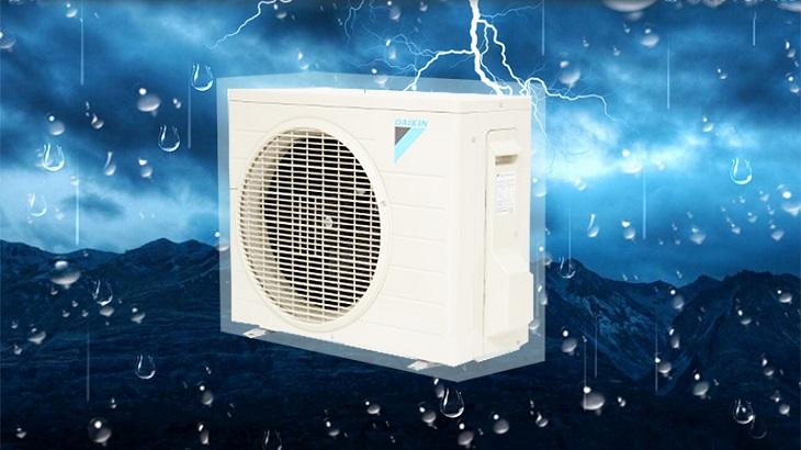 Điều hòa Daikin 2 chiều 12000btu FTNE35MV1V9 có dàn tản nhiệt chống ăn mòn