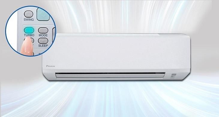 Điều hòa Daikin 2 chiều 12000BTU FTV35BXV1 làm lạnh nhanh