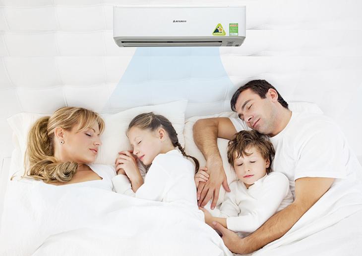 Chế độ ngủ ngon của điều hòa